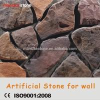 Plastic model loose pcs ledge stone stacked stone Faux Stone coating wall