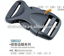 SBS fujian high quality plastic side release buckle SB032