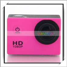 "SJ4000 1.5"" LCD 12.0MP 4X Sport Digital Video Professional HD Camcorder Full HD Rose Red"