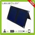 6w inteligente diseño de sun activado 5v 1a panel solar para el iphone y samsung