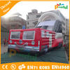cheap fire station inflatables/fire truck inflatables for hire