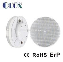 LEd lamp GX53 3W WW CE RoHS CRI>80 AC220-240V Plastic cover GX53 2835SMD