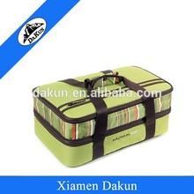Multi purpose insulated outdoor picnic thermal cooler bag DK14-1419