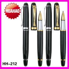 Wholesale promotional stylus gold ball pen logo pen metal roller ball pen factory