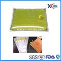 la baja cotización libre muestras de plástico bolsa de aceite comestible