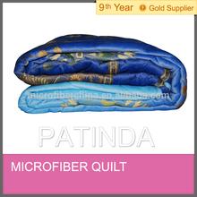 fashionable Microfiber warm quilt