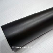2015 Newest custom design black matte vinyl wrap for car exterior decoration