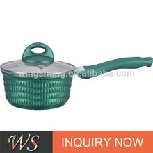green series milk boiling pot