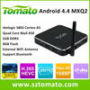 Android4.4 TV Box Network Hot Free Sex Porn Video Amlogic S805 4K2K H.265 MXQ Advertising Streaming Media Player TV Box