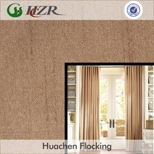 High Quality Flocking Coating Blackout Drapery Fabric for Hotel
