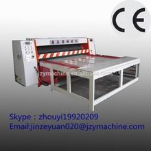 Chain feeding type corrugated carton box/paperboard slotting machine/carton making machine prices(jzy-3050)