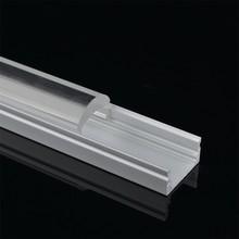 Ledwide anodized led aluminum profile led strip light with 60 degree clear lens