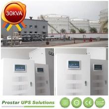 UPS Solutions Applied In Oil Depot (30KVA/24KW/30kva online ups)