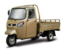 2015 cargo tricycle with cabin 200cc Single cylinder, water-cooled, 4-stroke van cargo tricycle