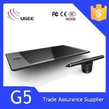 Computer PC Laptop Cordless Digital Pen Ugee G5 Art Graphics Drawing Tablet