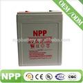 2v 100ah powered alarme de emergência 110v bateria recarregável