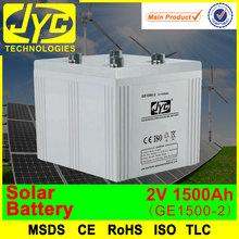 2v 1500ah power tool battery,solar dry cell battery,solar battery