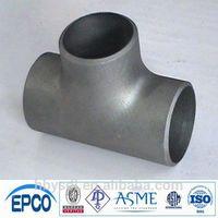 ansi b16.9 reducing tee stainless steel rust proof oil anti corrosive