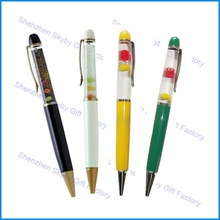 Custom 2D 3D Floater Floating Promotion Gift Liquid Pen