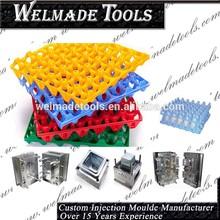 custom design plastic injection egg tray mold