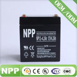sla ups battery in pakistan(12v4.2ah)