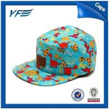 custom floral 5 panel snapback hats wholesale kids solar panel 5v