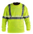 2015 nueva hi vis fluorescente camisa de polo de advertencia sudadera