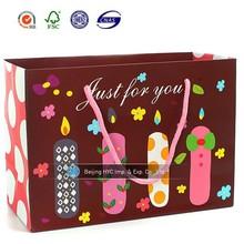 Fancy birthday paper bag for doll/ Lovely birthday gift packaging bag for doll/Happy birthday gift bag for doll