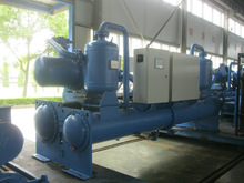 Industrial Air conditioning equipment from factory /Water Cooled Screw Flooded Water Chiller