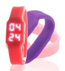 Led watch Customized silicone USB watch