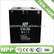 2V 2000AH MSDS Gel Rechargeable Sealed Lead Acid Battery For Inverter