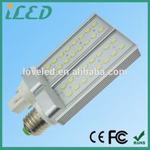 CE ROHS listed Cool white Epistar SMD 180 Degree 110V 120V led pl light bulb gx23 base