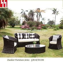 New design rattan furniture, rattan wicker sofa ,garden rattan sfoa for sale