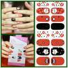 kisscolo solid color nail polish sticker