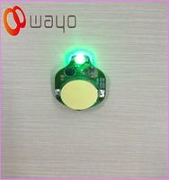 Single Green color small led blinking lights/LED flashers