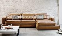 2015 Latest Italy leather sofa design