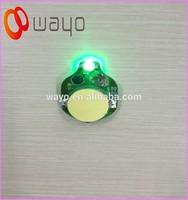 Single Green color flash led light/very small led light