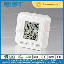 Mini LCD table alarm clock with temperature