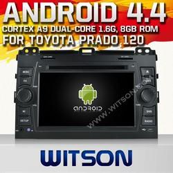 WITSON CAR DVD for TOYOTA PRADO Android OS 4.4 HEAD UNIT CAR DVD for TOYOTA PRADO 120