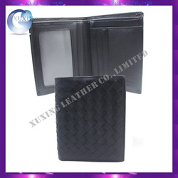 spot wholesale genuine cow leather thin wallet for man