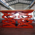 hidráulica plataforma elevatória de tesoura para carros preço