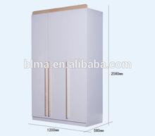 white color wooden wardrobe