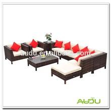 Audu Rattan Outdoor Section Sofa Restoration Sofa