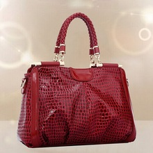 2015 new style manufacture women genuine leather bag