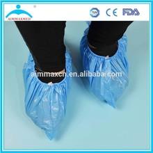 Manufaturer CPE/PE welding leather shoe cover