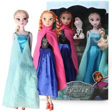 11.5 inch plastic baby doll frozen toy anna custom frozen elsa doll