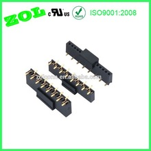 1.27 mm single row female header SMT with cap connector