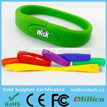 Wholesale cheap hand band usb flash drive & usb pendrive