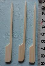 long flat wooden bbq sticks