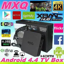 Android TV Box Quad Core MXQ tv box A17 1.8GHz Android Smart TV box Amlogic S805 Quad core MXQ